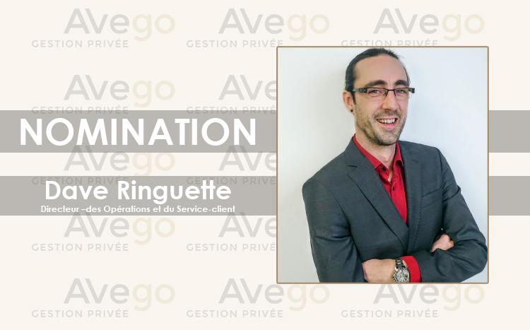Nomination Dave Ringuette